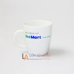 Cốc in logo Ace Mart